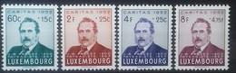 LUXEMBOURG N° 461 à 464 COTE 45 € NEUFS ** MNH 1952 PAYSAGISTE FRESEZ - Luxembourg