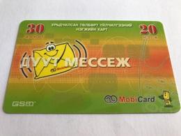 4:027 - Mongolia Prepaid - Mongolia