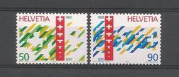 Switzerland 1990 700th Anniv. Of The Confederation Y.T. 1353/1354 ** - Switzerland