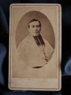 Photo CDV  Bonamy à Poitiers  Portrait Religieux  Evêque, Cardinal  CA 1870-75- L498G - Anciennes (Av. 1900)