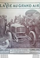 1908 VOITURE DELAGE - LE GRAND PRIX DES VOITURETTES - GUYOT - LA VIE AU GRAND AIR - Zeitungen