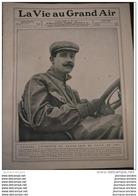 1908 NAZZARO VAINQUEUR  DU GRAND PRIX DE L'A.C. F. 1907 - LA VIE AU GRAND AIR - Books, Magazines, Comics