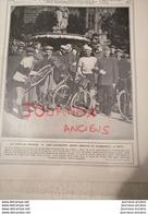 1908 TOUR DE FRANCE LES LAURÉATS - CIRCUIT DE DIEPPE - LES JEUX OLYMPIQUES DE LONDRES - CIRCUIT DE BOULOGNE - Zeitungen