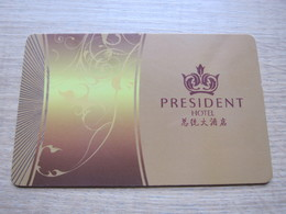Presidnet Hotel,Guangzhou China - Cartes D'hotel