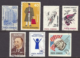 Romania - Birds, Costume, Fancy Dress, USA Flag, G.Cooper, Astronaut, Lot, Used - 1948-.... Republiken