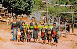 CPSM MEOS GATHERING AT MEO VILLAGE BEHIND DOISUTEB MOUNTAIN CHIENGMAI THAILAND - Thaïland
