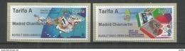 ESPAÑA SPAIN ATM 2017 TURISMO Y FILATELIA VALORES TARIFA A - 1931-Heute: 2. Rep. - ... Juan Carlos I