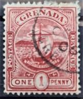 GRENADA 1906/11 - Canceled - Sc# 69 - 1d - Grenade (...-1974)