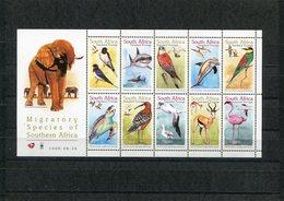 South Africa 1998 Birds And Mammels Sheet MNH. - Oiseaux