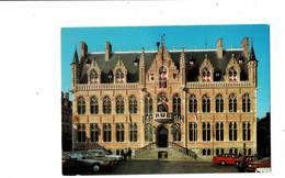 Vends Lot De Trois Cartes De Mouscron. Hôtel De Ville, Fontaine Hurlus, Souvenir De Mouscron. - Mouscron - Moeskroen