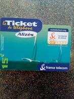 FRANCE TICKET ALIZES ROUTE DU RHUM CATAMARAN 15€ UT VALID 31.12.2004 - FT