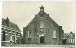 Ureterp; Gereformeerde Kerk (met Kosterswoning/pastorie?) - Niet Gelopen. (Jos Pé - Arnhem) - Pays-Bas