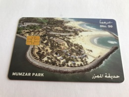 4:050 - UAE Car Parking Card - United Arab Emirates