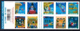 2011 Belgium Fair Ground Rides Amusement Park  Booklet Of 10 MNH @ BELOW FACE VALUE - Belgique