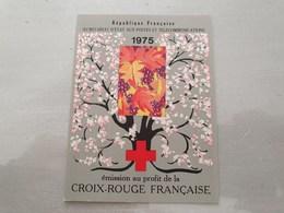 15112       CARNET DE TIMBRES NEUFS FRANCAIS CROIX ROUGE  ANNEE 1975 - Croix Rouge