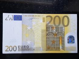 Bank Note 200 EURO 2002 W.Duisenberg ITALIE S J001 H1ETAT NEUF UNC - EURO