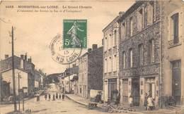 43-MONISTROL-SUR-LOIRE- LE GRAND CHEMIN, CROISEMENT DES ROUTE DE BAS ET D'USSINGEAUX - Monistrol Sur Loire