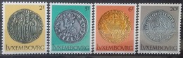 LUXEMBOURG N° 953 à 956 COTE 4,50 € NEUFS ** MNH 1980 ANCIENNES MONNAIES - Luxembourg