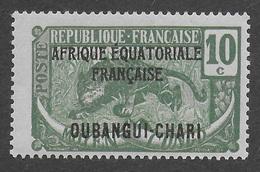 OUBANGUI-CHARI  1924 - YT 47** - Unused Stamps