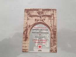 15126       CARNET DE TIMBRES NEUFS FRANCAIS CROIX ROUGE  ANNEE 1970 - Croix Rouge