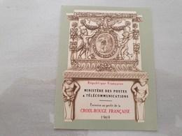 15127       CARNET DE TIMBRES NEUFS FRANCAIS CROIX ROUGE  ANNEE 1969 - Croix Rouge