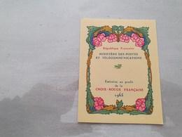 15128       CARNET DE TIMBRES NEUFS FRANCAIS CROIX ROUGE  ANNEE 1965 - Croix Rouge