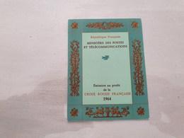 15131       CARNET DE TIMBRES NEUFS FRANCAIS CROIX ROUGE  ANNEE 1964 - Croix Rouge