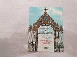 15134       CARNET DE TIMBRES NEUFS FRANCAIS CROIX ROUGE  ANNEE 1968 - Croix Rouge