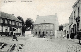 Arquennes Place Communale 1911 édit Rousseau - Seneffe