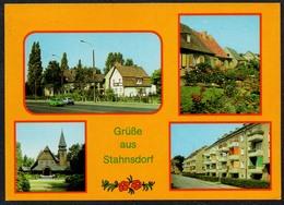 D5587 - TOP Stahnsdorf - Neubausiedlung - Bild Und Heimat Reichenbach - Stahnsdorf