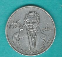 Mexico - 100 Pesos - 1978 Mo - KM483.2 - Mexico