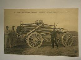 Ecole à Feu L'échelle Observatoire Rimailho ,non écrite,estimé 1916,très Bel état,pas Commun - Lassigny