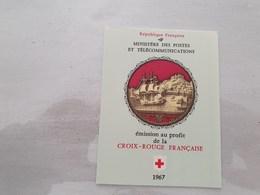 15135       CARNET DE TIMBRES NEUFS FRANCAIS CROIX ROUGE  ANNEE 1967 - Croix Rouge