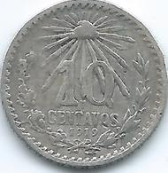 Mexico - 10 Centavos - 1919 M - KM429 - Mexico