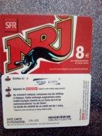 REUNION SFR NRJ PANTHERE 8€ UT VALID 09.05 - Réunion