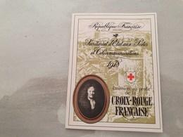 15143       CARNET DE TIMBRES NEUFS FRANCAIS CROIX ROUGE  ANNEE 1978 - Croix Rouge