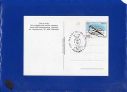 ##(DAN204)-1995-Aulla, 50°anniversario Liberazione, Annullo Speciale Su Cartolina Commemorativa-tematica  Resistenza - 6. 1946-.. Repubblica