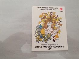 15145       CARNET DE TIMBRES NEUFS FRANCAIS CROIX ROUGE  ANNEE 1983 - Croix Rouge
