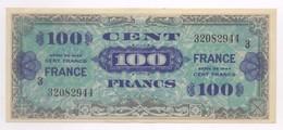 100 FRANCS 1944 VERSO FRANCE SERIE 3 ETAT SUP - Sonstige