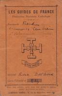 Scoutisme, Guide, Cheftaine. Lot De Papiers 1927à1936. - Documents Historiques