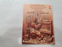15152       CARNET DE TIMBRES NEUFS FRANCAIS CROIX ROUGE  ANNEE 1980 - Croix Rouge