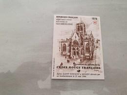 15153       CARNET DE TIMBRES NEUFS FRANCAIS CROIX ROUGE  ANNEE 1979 - Croix Rouge