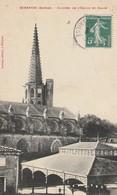 Mirepoix - Clocher De L'eglise Et Halle - Ariège - Mirepoix