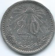 Mexico - 20 Centavos - 1906 M - KM435 - Mexico