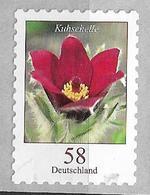"2012 Allem. Fed. Deutschland Germany Mi. 2971 R **MNH  Nr. 80   Rotblühende Kuhschelle (Pulsatilla Vulgaris ""Rubra"") - [7] Repubblica Federale"