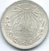 Mexico - 20 Centavos - 1941 M - KM438 - Mexico