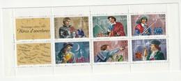 France Frankreich 1997 Yvert BC3121 ** Non Plié, Markenheftchen Michel MH 45 **, Helden, Héros D'aventures, 2 Scans - Personen