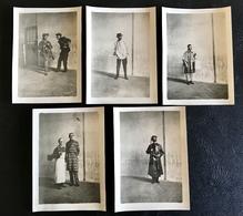 Lot 5 PHOTOS Theatre Gendarme, Militaire.... - Professions