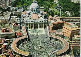 Rome - Piazza S. Pierre Vista Dall'aereo - Place Saint Pierre Vue De L'avion - San Pietro