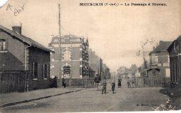 """5773 Cpa Meurchin - Le Passage à Niveau """" état """" - Otros Municipios"""